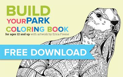American Prairie Reserve Coloring Book