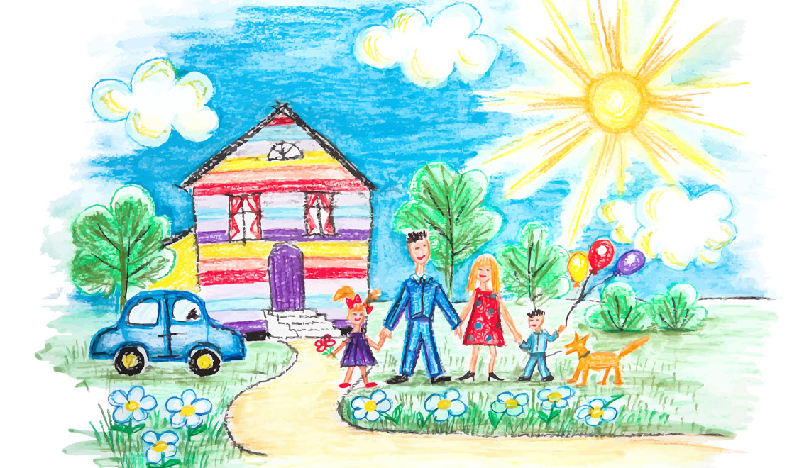 saving kids artwork digitally