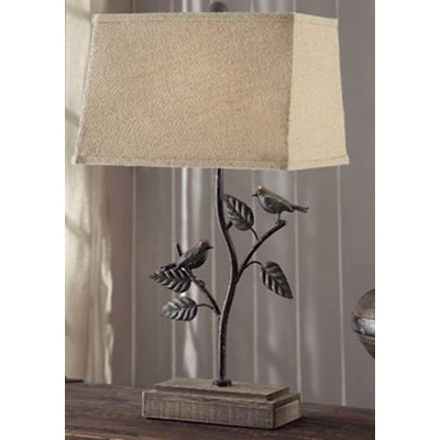 Birds on the branch table lamp