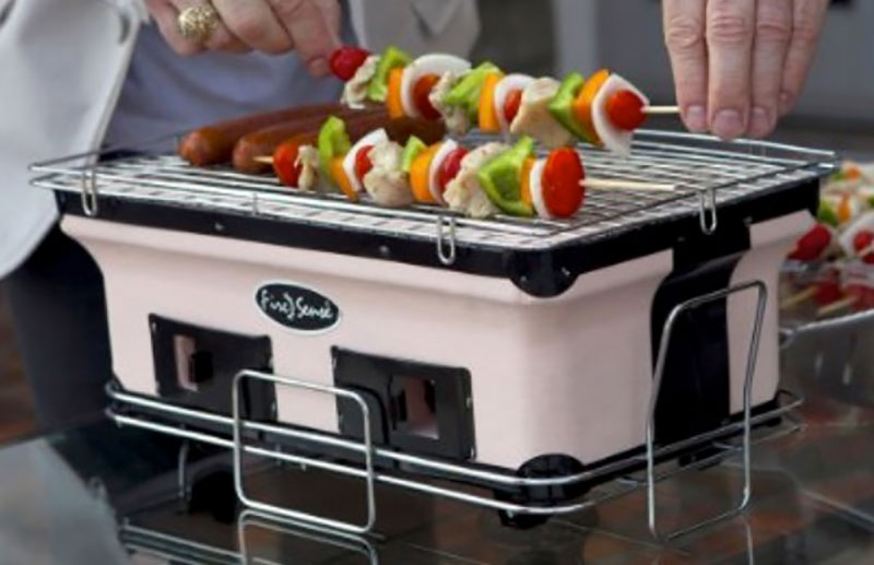 outdoor entertaining, Yakatori charcoal grill