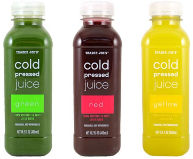 Cold Pressed Juice Snacks