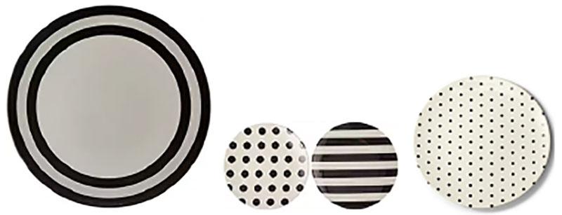 Kate Spade unbreakable melamine plates