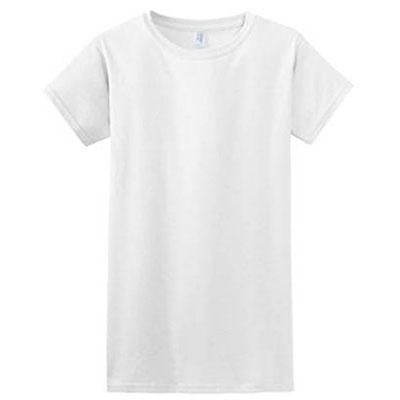 Gilden's Soft White T-Shirt