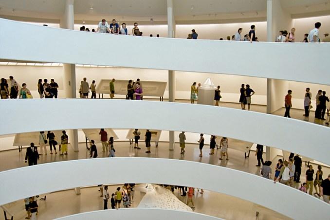Guggenheim Interior Spiral