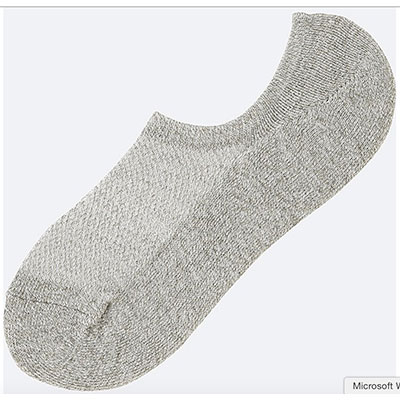 Uniqlo no-show socks