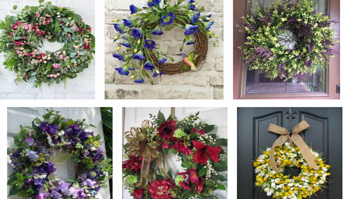 Wreaths Can Be Used Year Round
