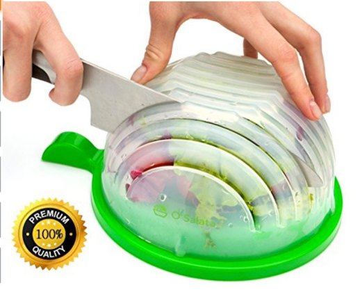 Stocking stuffer holiday gift salad cutter