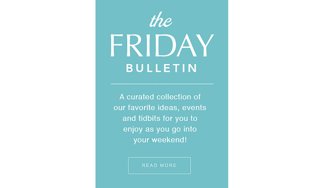 Friday Bulletin Fonda and Millenial Investing