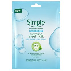 Simple hydrating sheet mask