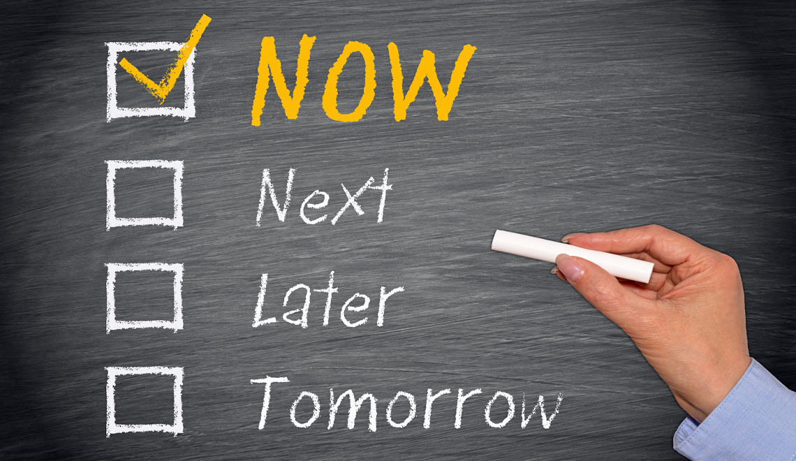 discussion of procrastination and precastinaion