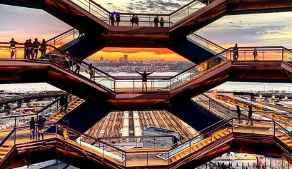 The Vessel at Hudson Yards Redevelopment Project