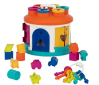 House shape sorter gifts for kids 2019