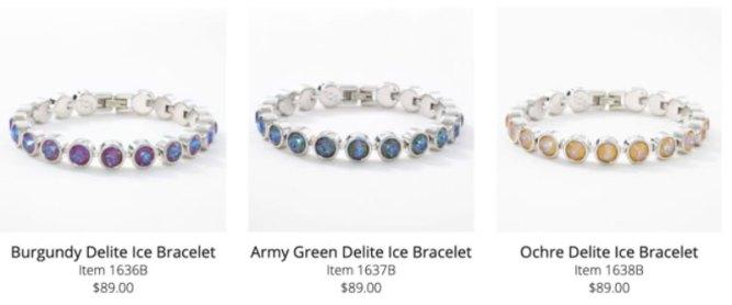 Touchstone Crystal Bracelets by Swarovski
