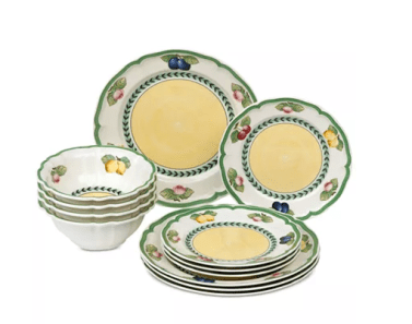 New dishes Villeroy and Boch