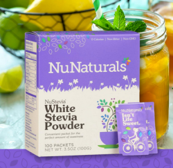 Nunaturals stevia powder