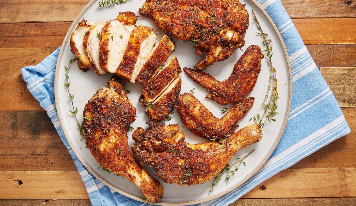 Rotisserie Chicken Can Be the Center of Attention