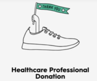 Donate a pair of Allbrds to Healthcare Workers