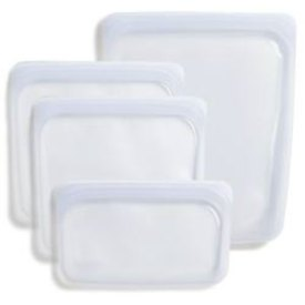 Mixed silicone storage bags