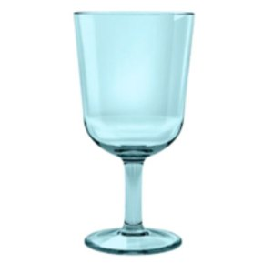 melamine water glass aqua