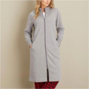 Women's Souped-Up Fleece Zip-Up Robe
