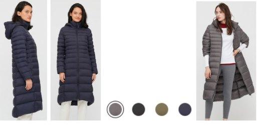 down coat as wearable blanket