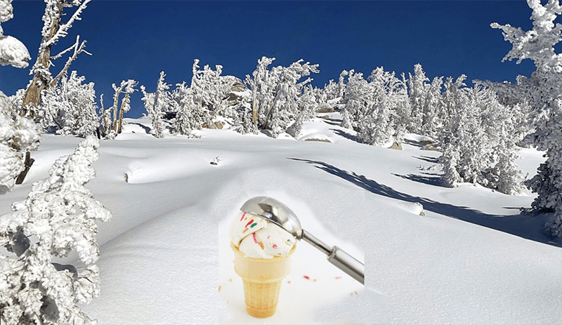 Snow Ice-Cream