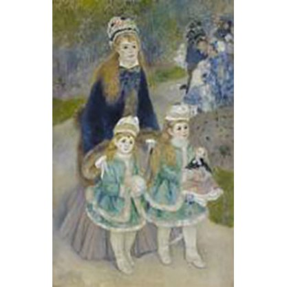 Pierre- Auguste Renoir, Mother and Children