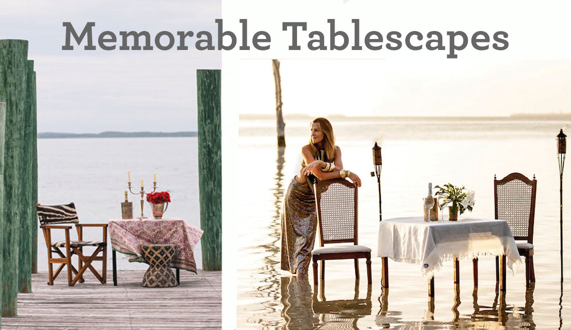 Tablescapes! Setting the Scene for Entertaining and Holidays – We Are Getting Closer.