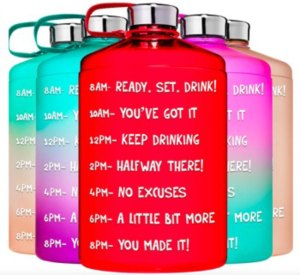 funny motivational water bottle sayings