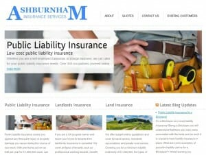 Ashburnham Insurance Website