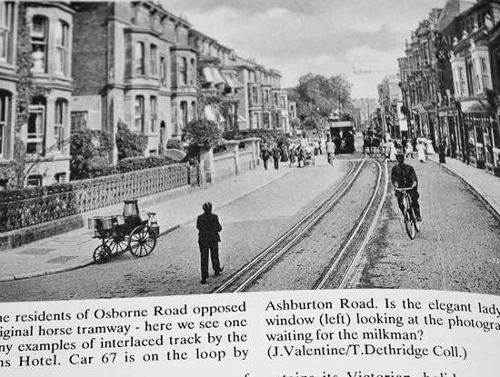Ashburton Road Tram time