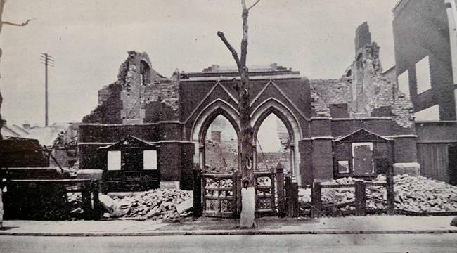 Immanuel Church, Victoria Road, 1941