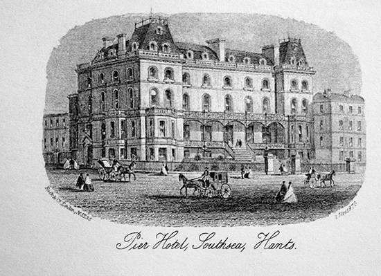 Pier Hotel Southsea 1869