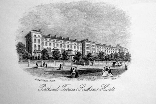 Portland Terrace Southsea 1876