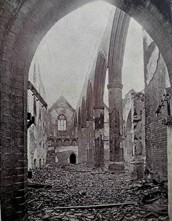 St. Matthew's Church, Southsea January 1941