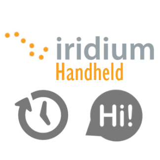 Iridium Airtime Vouchers - Iridium Extreme Ultra-Compact Mini Satphone <b>Solar</b> Bundle