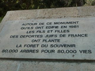 memorial de la deportation Roglit 2 5 2011