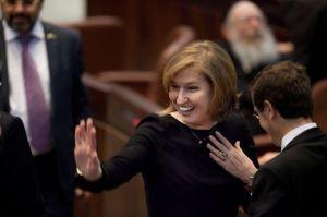 L'ex-ministre israélienne des Affaires étrangères Tzipi Livni au Parlement israélien, à Jérusalem, le 5 février 2013 (Photo AFP)