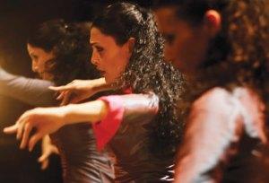 Montse Cortes מארחת את    Ramangar להקת הפלמנקו