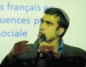 Yoni Chetboun, autoproclamé Représentant des les francophones Photo: Yohav OREMIATZKI