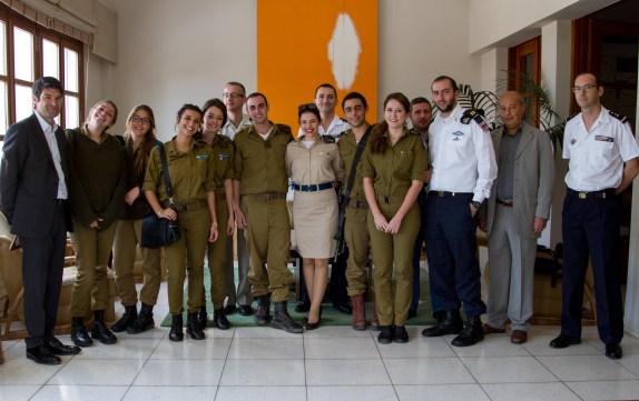 Dejeuner_jeunes_militaires_franco_israeliens-1