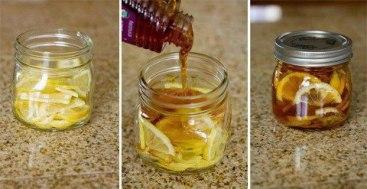 citron en pot
