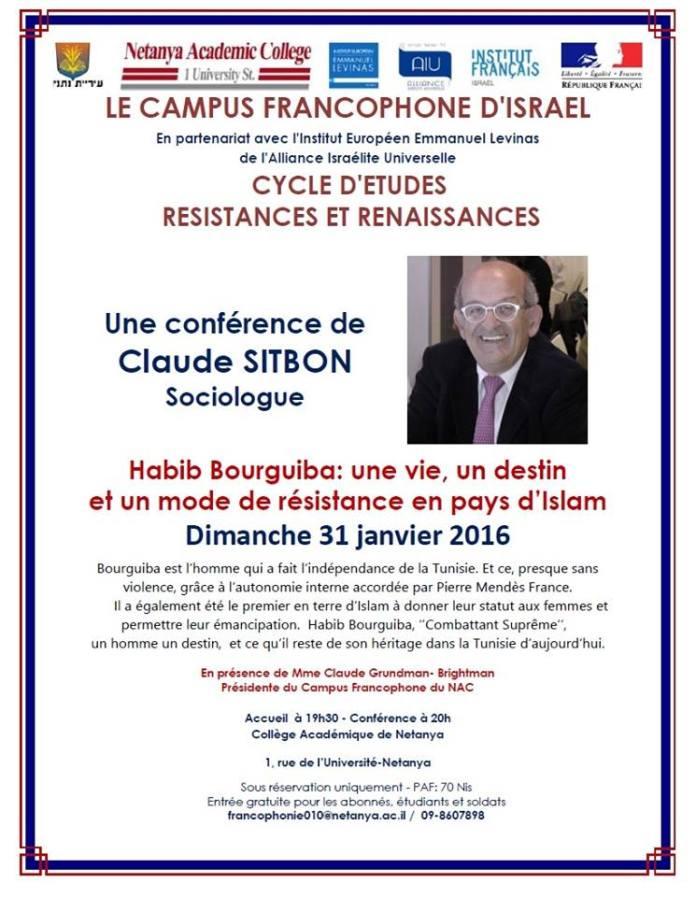 conference habib bourguiba