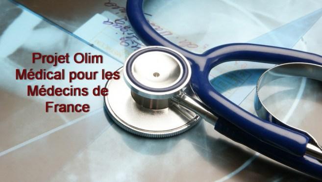 projet olim Medical pour les medecins de france