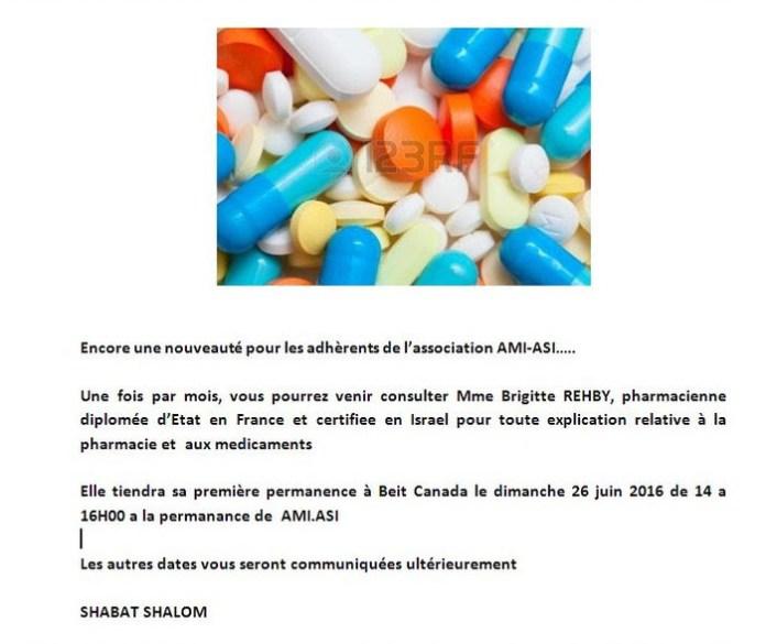 reception pharmacien conseil