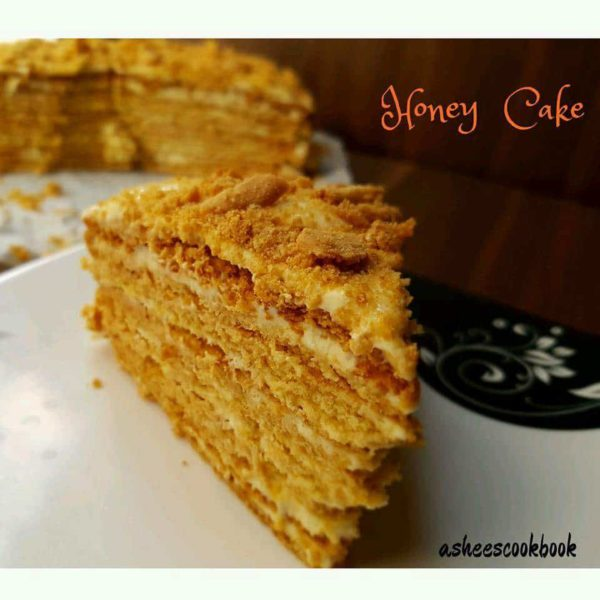 Honey Cake Recipe Ashee S Cookbook
