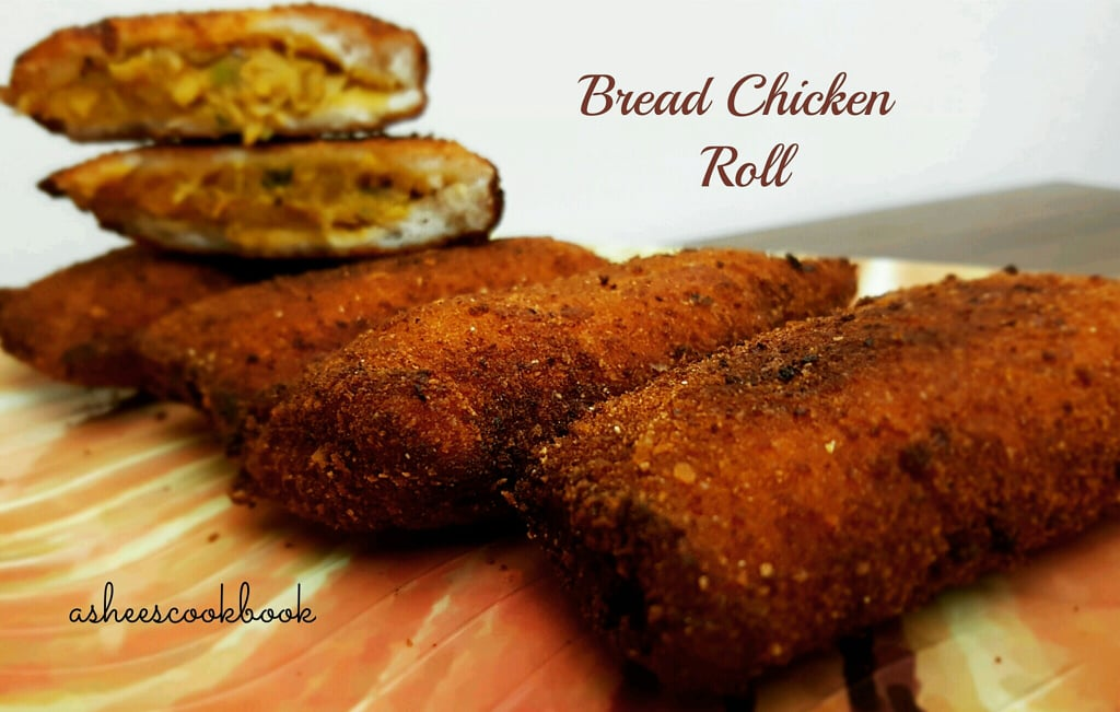Bread chicken Roll