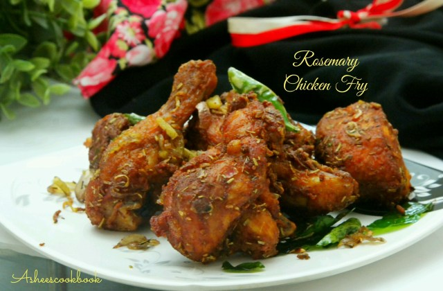 Rosemary Chicken Fry