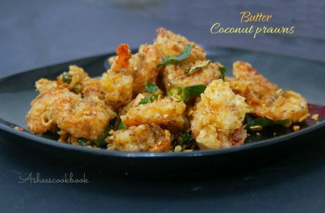 Butter prawns
