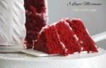 Microwave red velvet cake